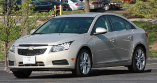 The 2013 Chevy Cruze became my favorite car ever. Creative Commons credits detailed below.