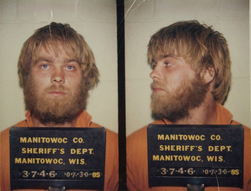Steven Avery's 1985 Mugshot. Photo: Public Domain.