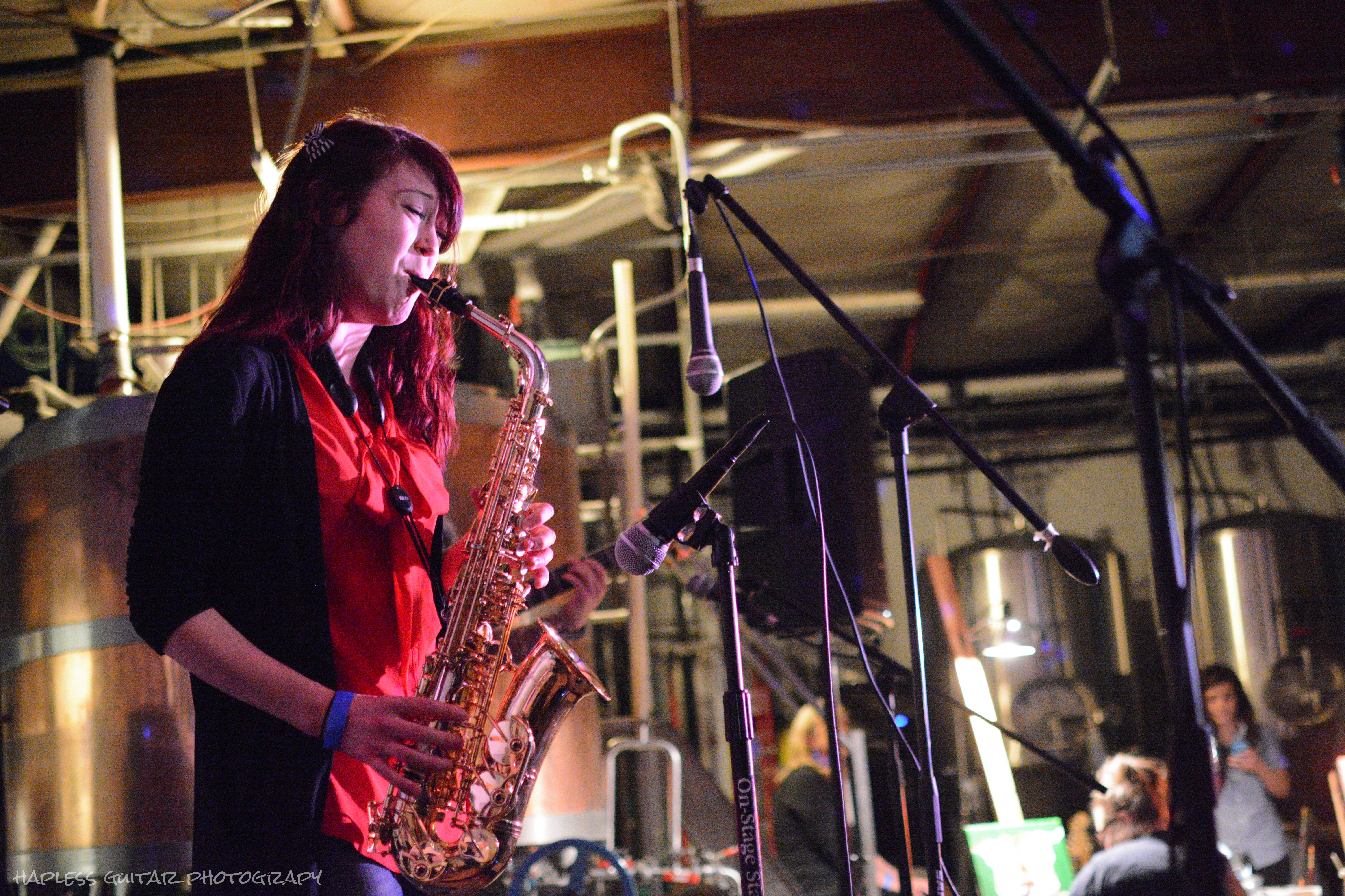 Amanda Gardier, an extremely versatile sax player who can sit in with anyone anywhere. You can ofter find her playing in the jazz venues in and around Indianapolis, and also with the Charlie Ballantine's band.