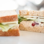 The famous Fried Chicken Salad Sandwich a