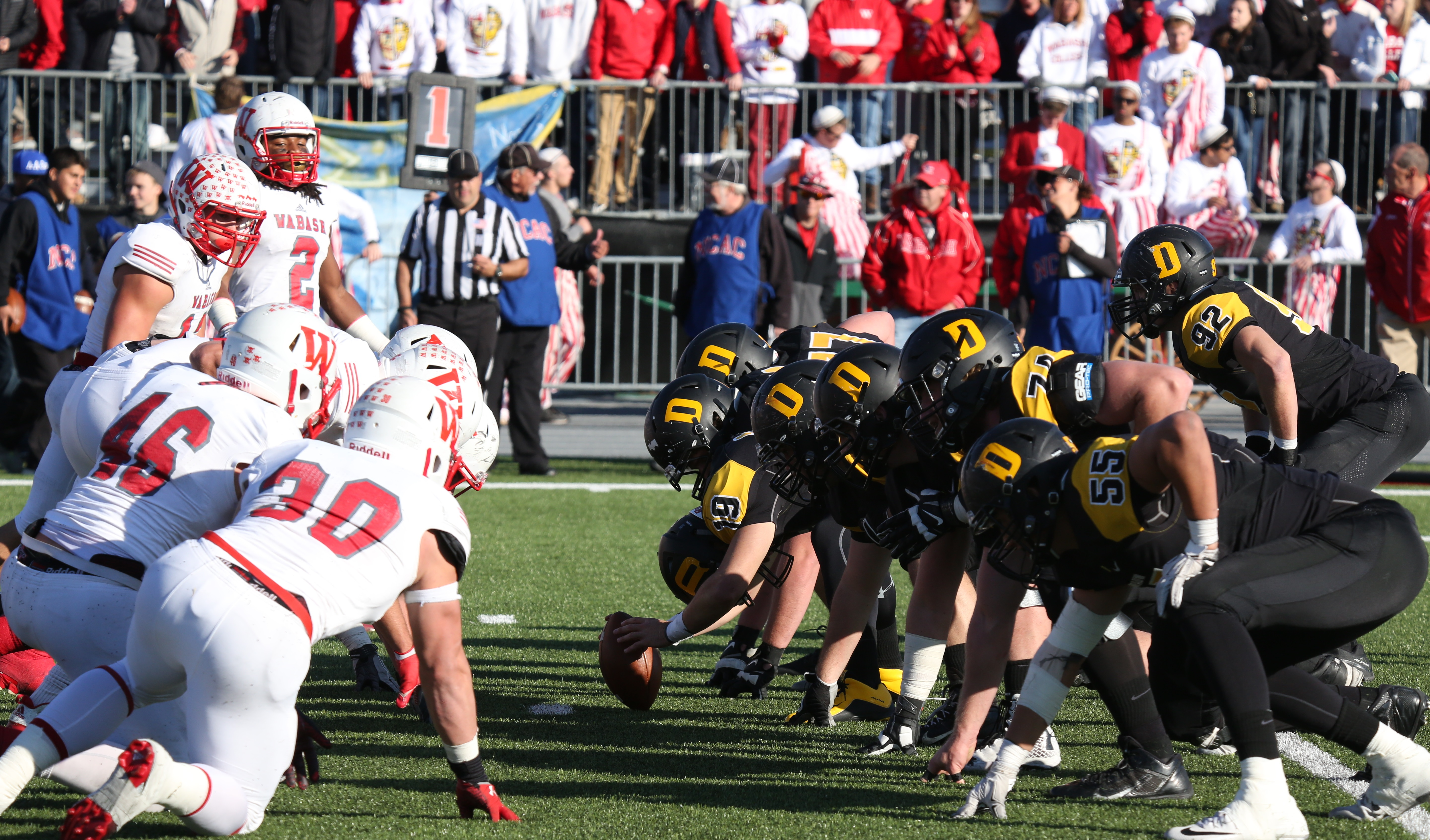 Game photos courtesy of DePauw University Photographic Services.