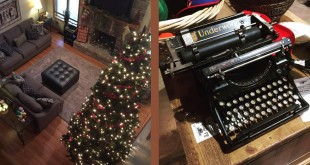 Christmas Typewriter