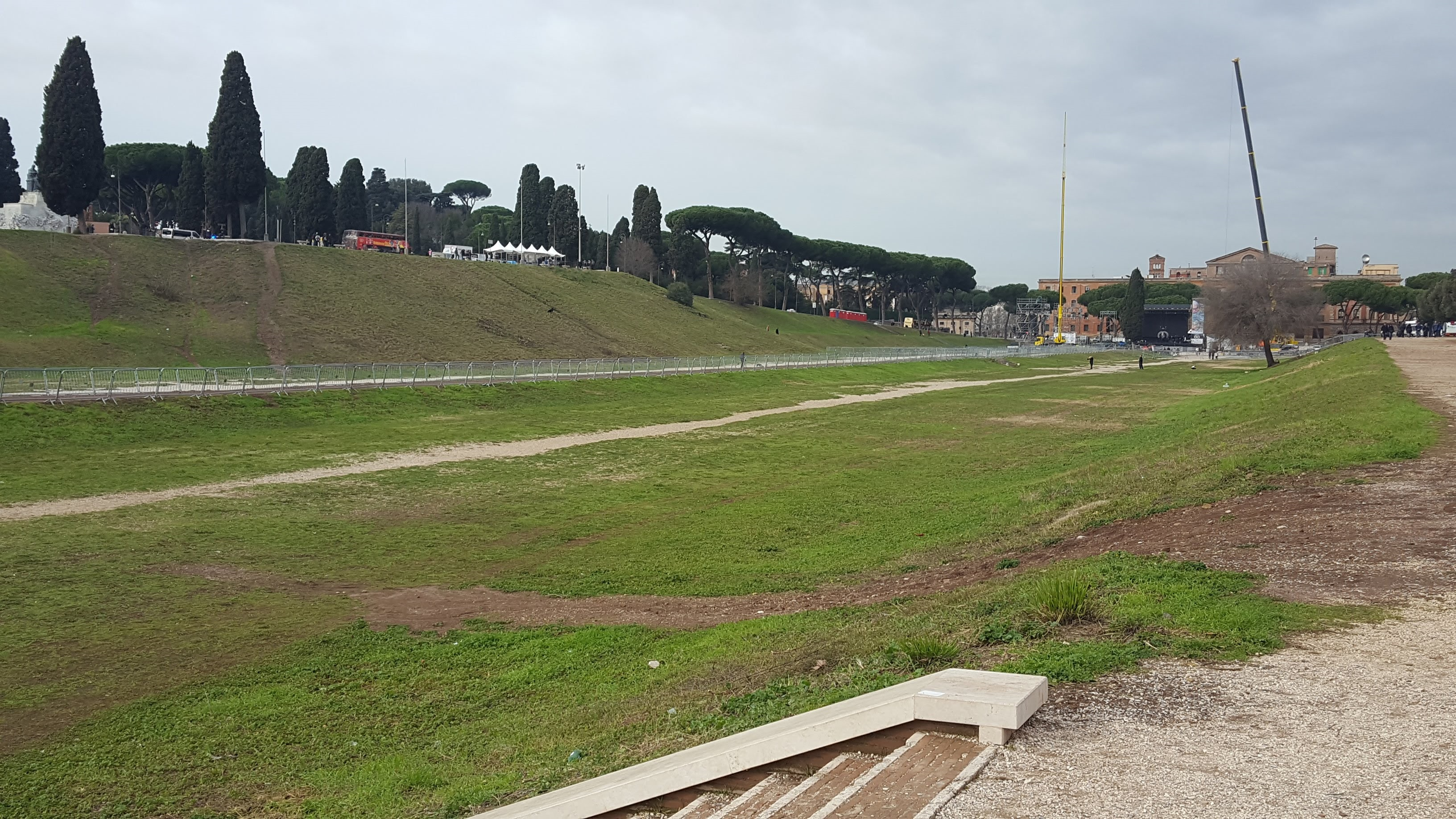 Circus Maximus Photo by Alia Shuck