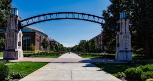 Arch Indiana West Lafayette Purdue University