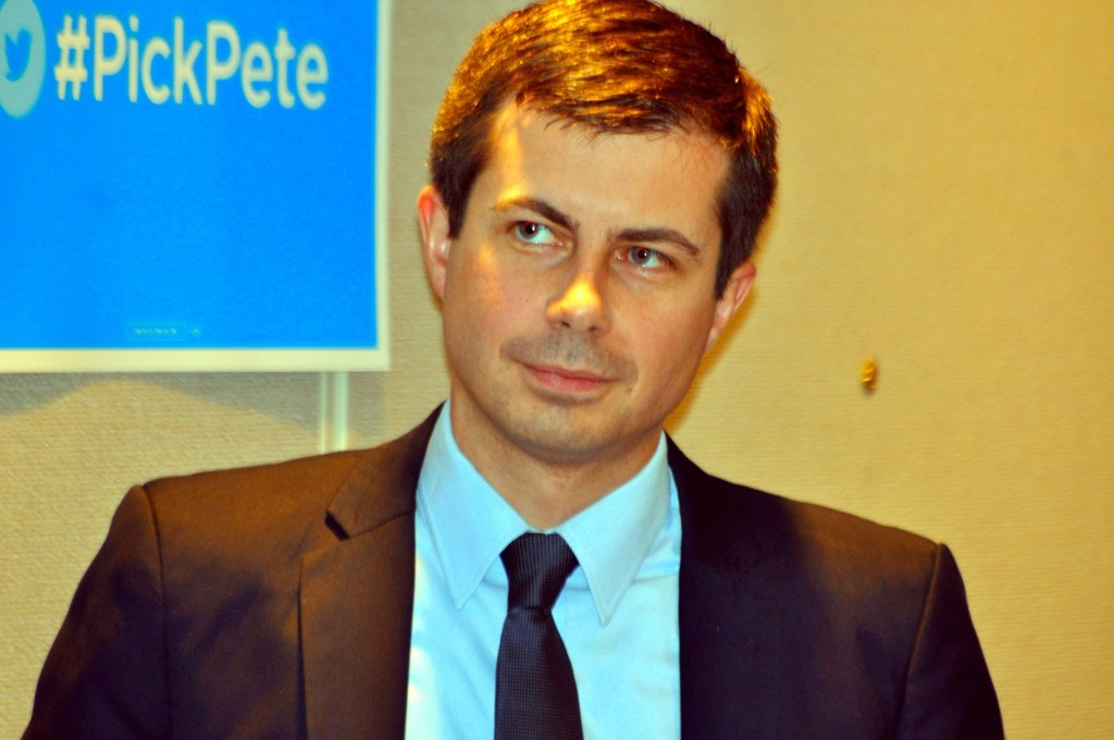 South Bend Mayor Pete Buttigieg. Photo by Edward Kimmel. Creative Commons disclaimer below.