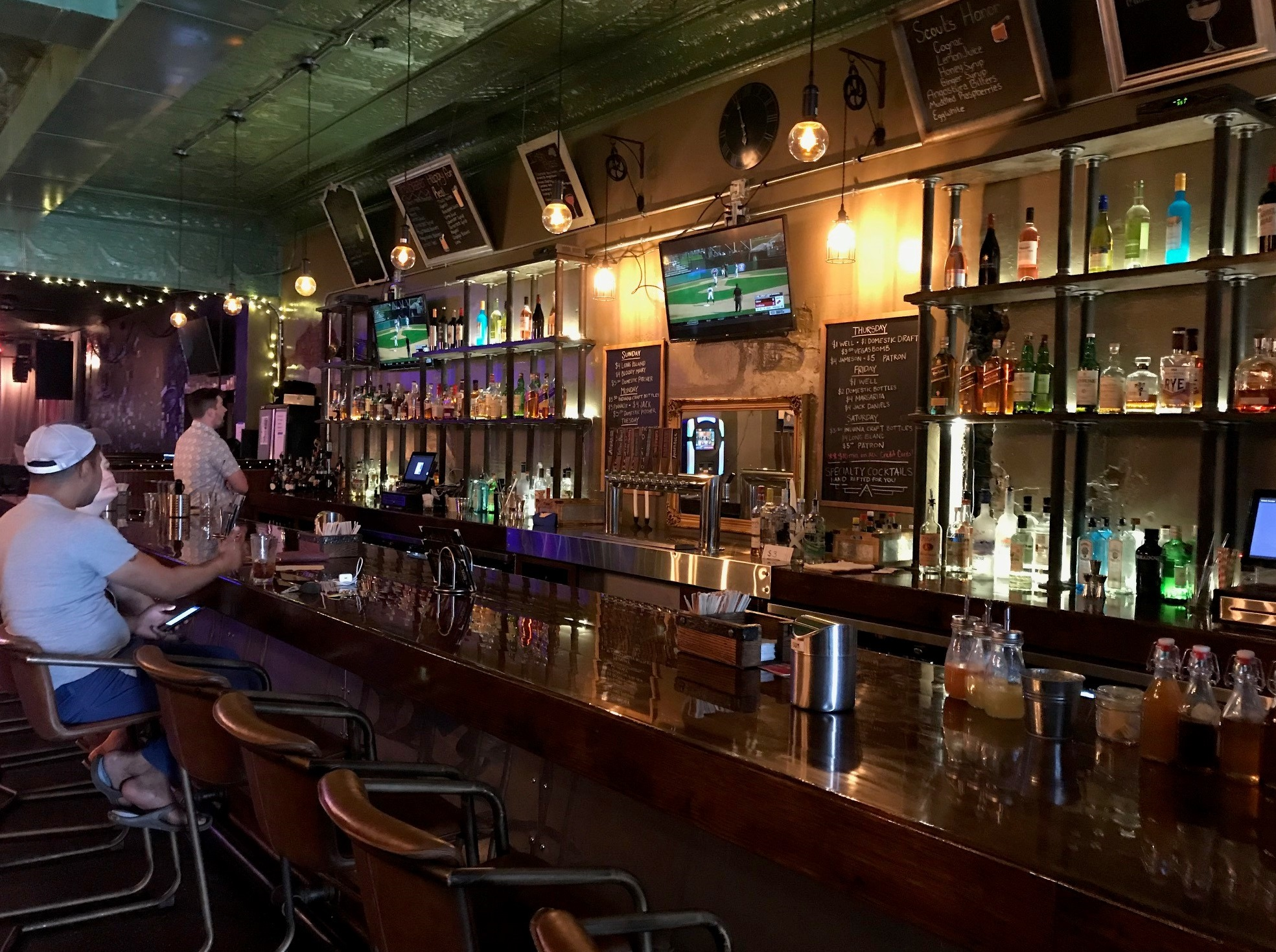 The Bar at the Verve Remodeled